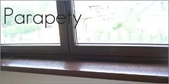 parapety drewniane - galeria